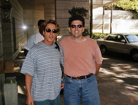 Roger Epperson and Roger Daltrey